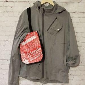 Lululemon Grey Hooded Jacket NWOT
